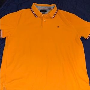 Mustard yellow Tommy Hilfiger polo